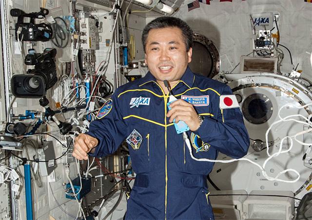若田 宇宙 飛行 士